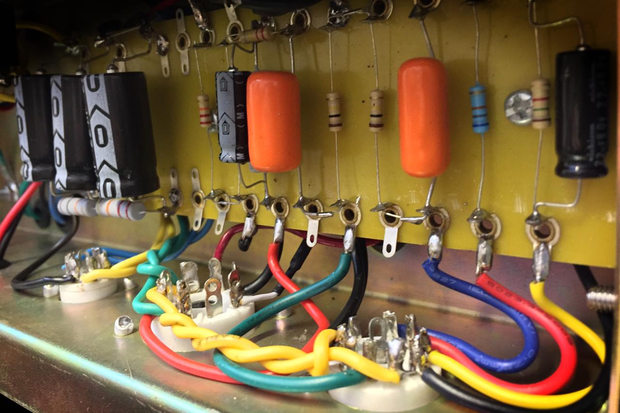 Morris Guitar Amplification Tweed 5-10