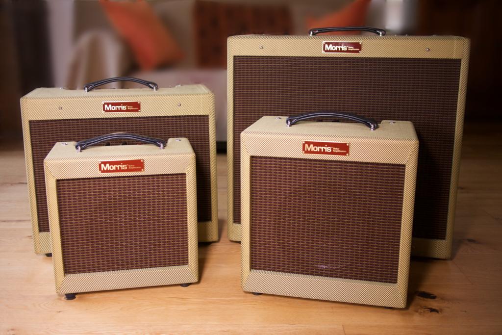 Morris Guitar Amplification Tweed Range